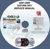 Thumbnail SATURN SKY 2007 2008 2009 SERVICE REPAIR MANUAL