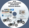 Thumbnail Harley Davidson 2016 Sportster All Models Service Manual