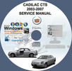 Thumbnail CADILLAC CTS 2003 - 2007 SERVICE REPAIR MANUAL