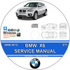 Thumbnail BMW X6 2008-2012 COMPLETE WORKSHOP SERVICE REPAIR MANUAL