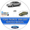 Thumbnail Ford Taurus 2000 - 2007 Service Repair Manual