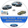 Thumbnail Ford Taurus 2010 2011 2012 Service Repair Manual