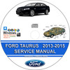 Thumbnail Ford Taurus 2013 2014 2015 Service Repair Manual